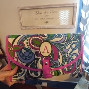 New organizer with letter A